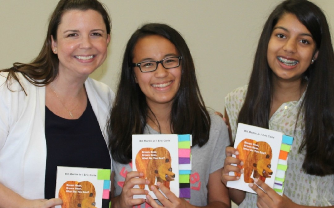 Local Girls Scouts Adapt Books with Tandem, Earn Silver Award