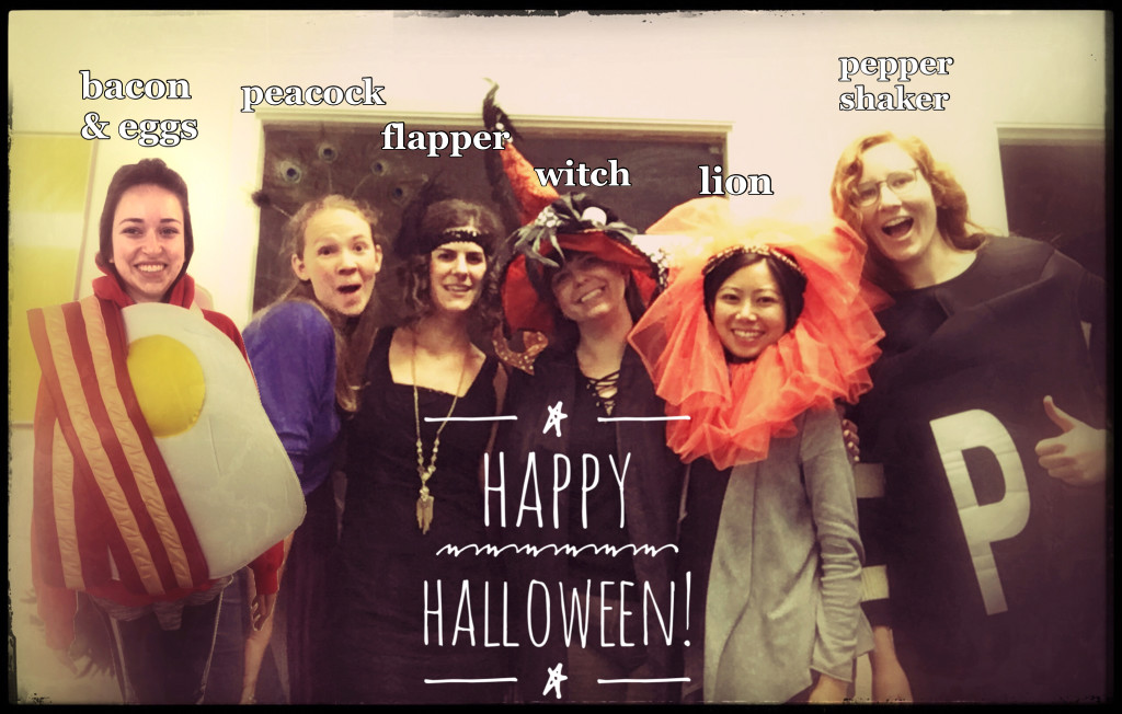 A recent Halloween photo with Tandem staff.