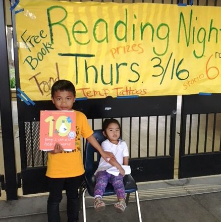 Tandem Sparks Joy at Turner Elementary Family Reading Night