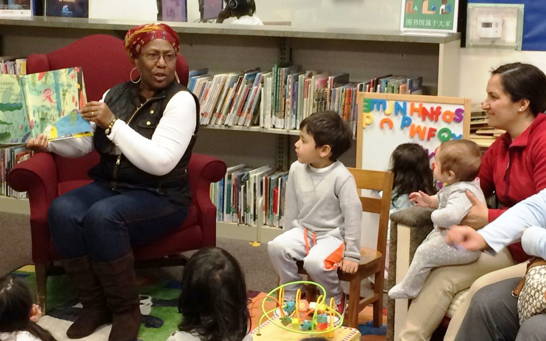 Tandem, San Pablo Library Spark Families' Imagination at Special Literacy Event