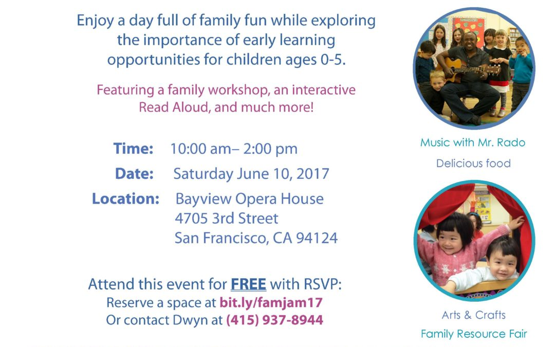 Attend the Bayview Family Jamboree on June 10th!